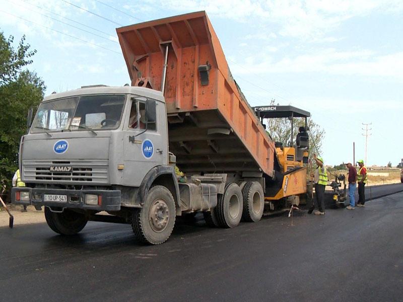 Mehdiabad-Pirşağı avtomobil yolunda təmir yekunlaşır