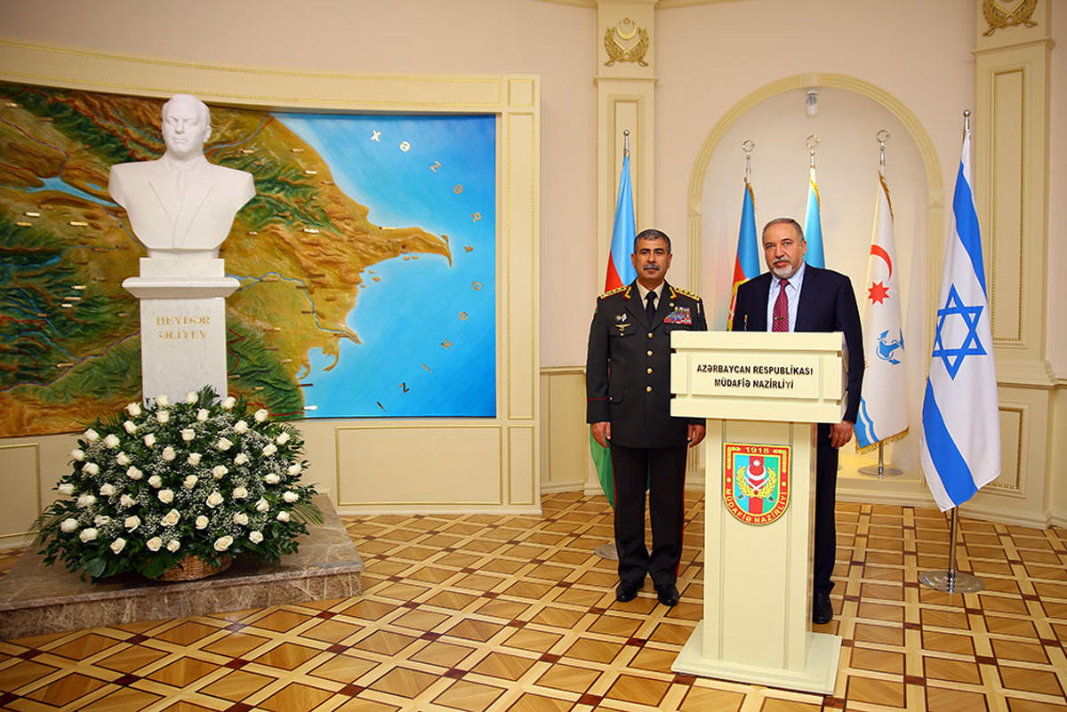 Azərbaycanla İsrail arasında hərbi əməkdaşlığın perspektivləri müzakirə olundu - FOTO