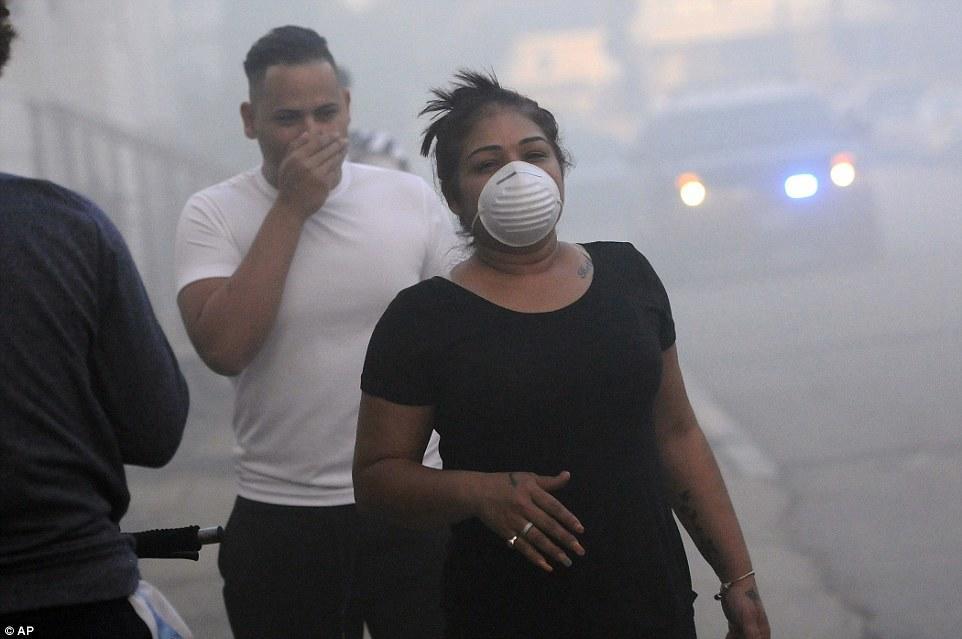 ABŞ-da qaz fəlakəti: 3 şəhərdə 70 bina partlayıb yandı - VİDEO - FOTO