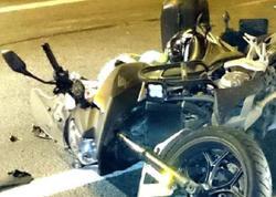 Bakıda qadını motosiklet vurdu