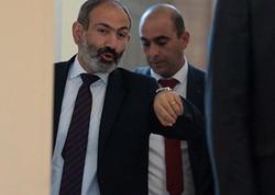 Paşinyan Koçaryan və Sarqsyanı siyasi meyit adlandırdı