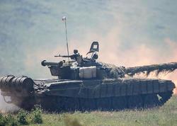 Rusiyanın Ermənistandakı hərbi bazasında döyüş hazırlığı yoxlanılır