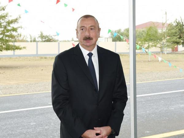 """Prezident İlham Əliyev: """"Bu gün Azərbaycan dünya miqyasında çox böyük hörmətə malik olan bir ölkədir"""""""