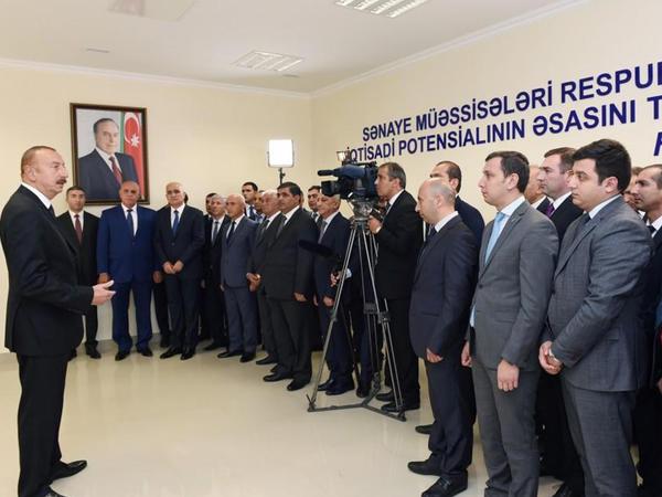 """Prezident İlham Əliyev: """"Bakı-Astara magistral yolunun açılışı tarixi layihədir, Azərbaycanın imkanını göstərir"""""""
