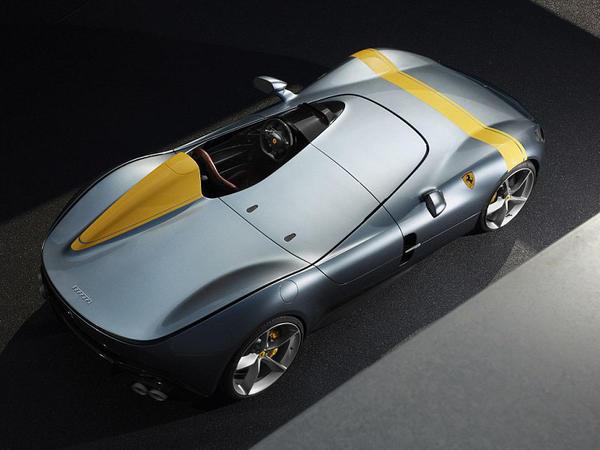 Tarixin ən fantastik Ferrari-si göstərildi - VİDEO - FOTO