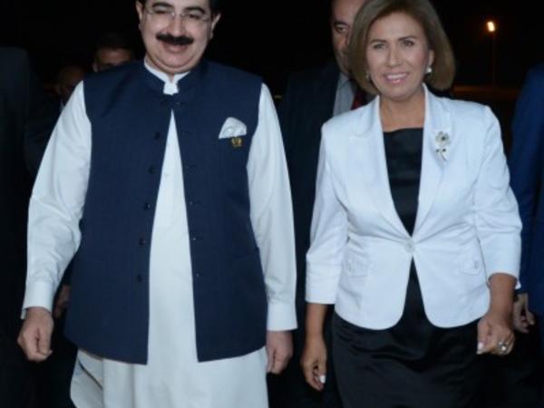 Pakistan Senatının sədri Azərbaycana səfərə gəlib