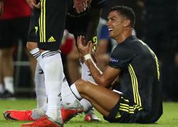 Ronaldo hakimə nə deyib? - VİDEO - FOTO