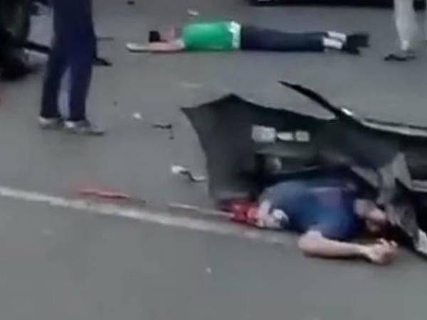 """Bakıda maşın partladı: <span class=""""color_red"""">4 nəfər öldü - YENİLƏNİB - VİDEO</span>"""