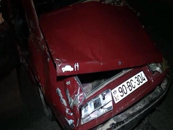 Goranboyda maşın atı vuraraq aşıb, 3 nəfərə xəsarət alıb - FOTO