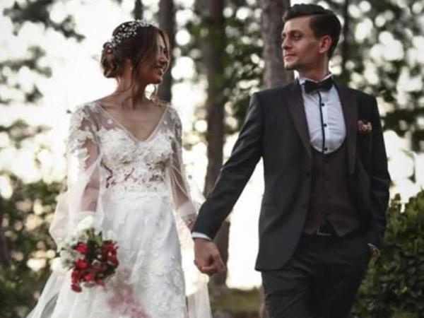 Türkiyəli reper evləndi - FOTO