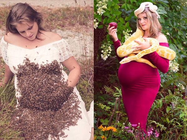"""Arılara görə uşağını itirdi, <span class=""""color_red"""">indi boynuna ilan dolayır - FOTO</span>"""