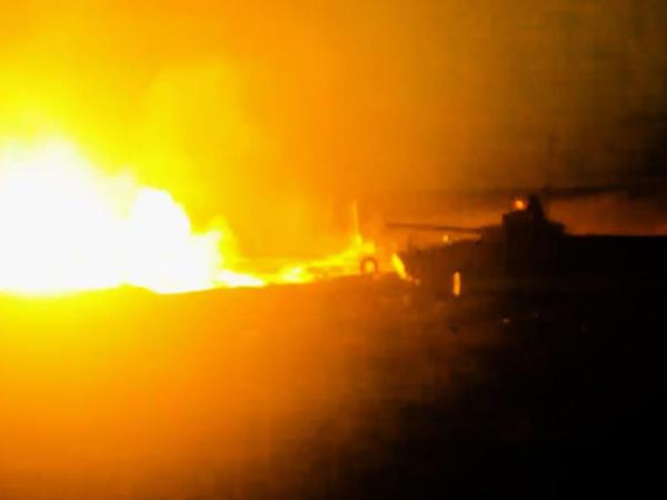 Azərbaycan ordusu gecə vaxtı döyüş atışları keçirib - VİDEO - FOTO