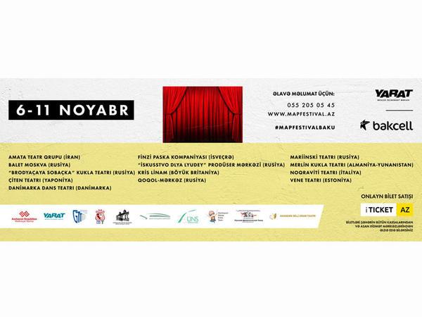 """Bakıda M.A.P. Beynəlxalq Teatr Festivalı keçiriləcək - <span class=""""color_red"""">VİDEO</span>"""