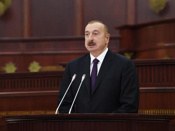 """Prezident İlham Əliyev: """"Bu gün Azərbaycan dünya xəritəsində bir uğur nümunəsidir"""""""