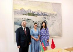 Azərbaycan xarici işlər nazirinin müavini isveçrəli həmkarı ilə görüşüb - FOTO