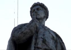 Azərbaycanda dünyada nadir rast gəlinən heykəl ucaldılıb - VİDEO