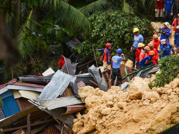 Filippində torpaq sürüşməsi nəticəsində 29 nəfər ölüb