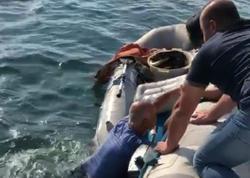 """Su Polisi balıqçının həyatını xilas etdi - <span class=""""color_red"""">VİDEO - FOTO</span>"""
