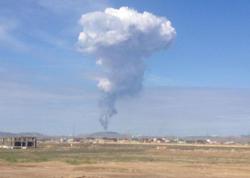 Nazirlik: Ötən gün palçıq vulkanının püskürdüyü əraziyə heç kim buraxılmır