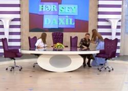 Azərbaycanlı aktrisa canlı yayımda biabır olacaqdı - VİDEO