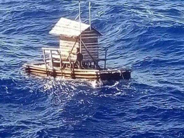 49 gün dənizin ortasında qalan gənc xilas edildi - VİDEO