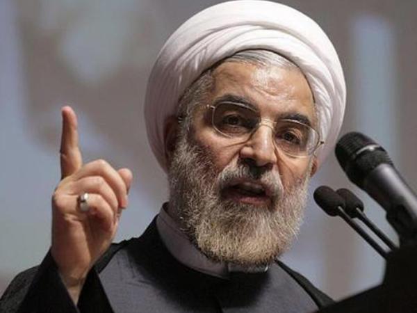 Ruhani İranın Hörmüz boğazını bağlaya biləcəyini istisna etməyib