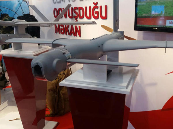 """AMEA ilk dəfə pilotsuz uçuş aparatı istehsal edib - """"Yarasa"""" - FOTO"""