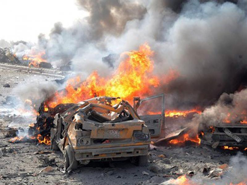 Malidə PARTLAYIŞ: 8 ölü
