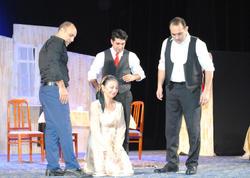 YAP Sumqayıt təşkilatı Sumqayıt Dövlət Dram Teatrında olub - FOTO