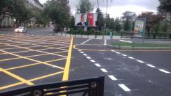 """Paytaxtda yolda """"tor quruldu"""" - Nəqliyyatın kilidlənməsinin qarşısını almaq üçün - FOTO"""