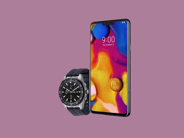 LG V40 ThinQ smartfonu və LG Watch W7 smart saatı təqdim olundu