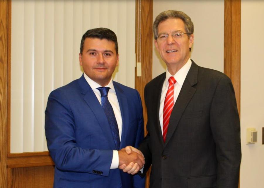 Azərbaycanlı konsul ABŞ Dövlət Departamentinin səfiri ilə görüşüb - FOTO