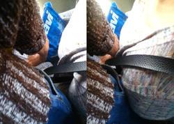 """Bakıda avtobusda """"manyak""""ın qadına əxlaqsızlıq anı <span class=""""color_red"""">KAMERAYA DÜŞDÜ - VİDEO</span>"""