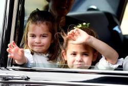 Kraliçanın nəvəsinin toyunun TƏFƏRRÜATI - VİDEO - FOTO