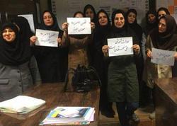 """İranın 50 şəhərində müəllimlərin aksiyası başladı - <span class=""""color_red"""">FOTO</span>"""