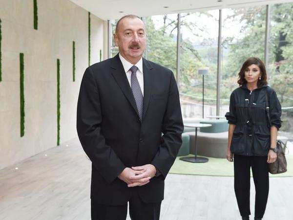 """Prezident İlham Əliyev: """"Turizmin inkişafını şərtləndirən bir çox amillər var və onların hamısı Azərbaycanda mövcuddur"""""""
