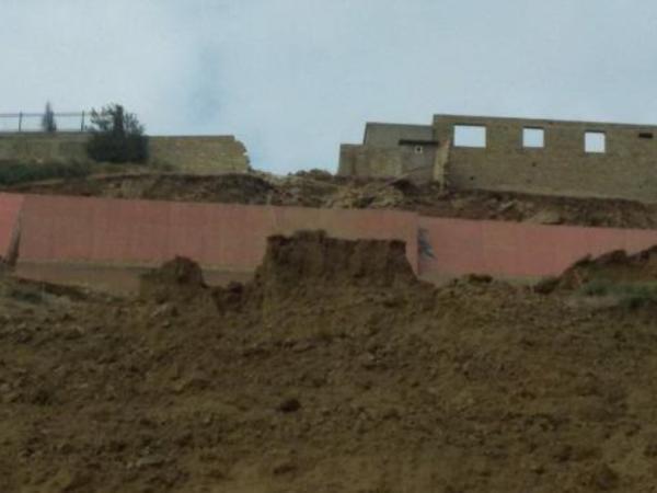 """Badamdarda tədqiqat aparılan ərazidə uçqun baş verib - <span class=""""color_red"""">FOTO</span>"""