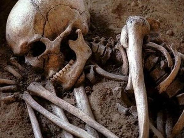 Bakıda köhnə tikilidə insan skeleti tapıldı