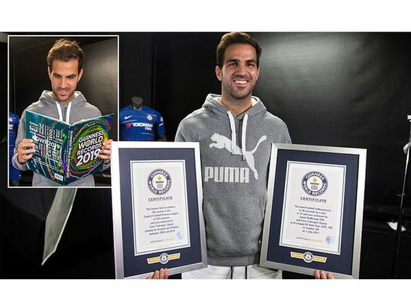 Məşhur futbolçu rekordlar kitabına düşdü
