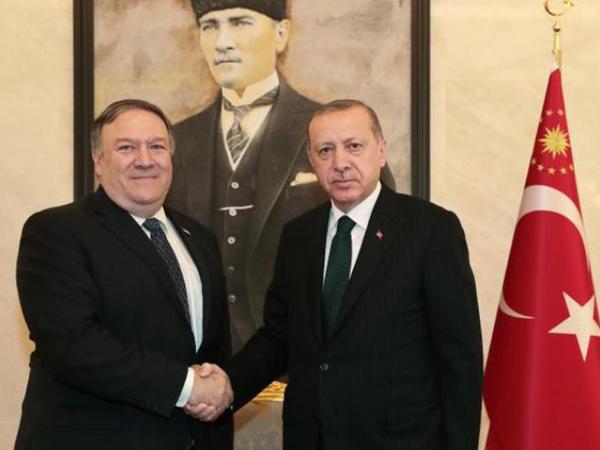 ABŞ-ın dövlət katibi Qaşıqçının məsələsini araşdırmaq üçün Türkiyəyə gəlib - FOTO