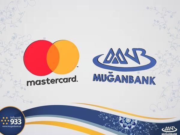 """MasterCard """"Muğanbank""""ı mükafatlandırdı"""