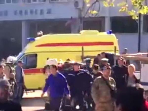 """""""Krımdakı partlayışın səbəbi kimi terror hücumu versiyası nəzərdən keçirilir"""""""