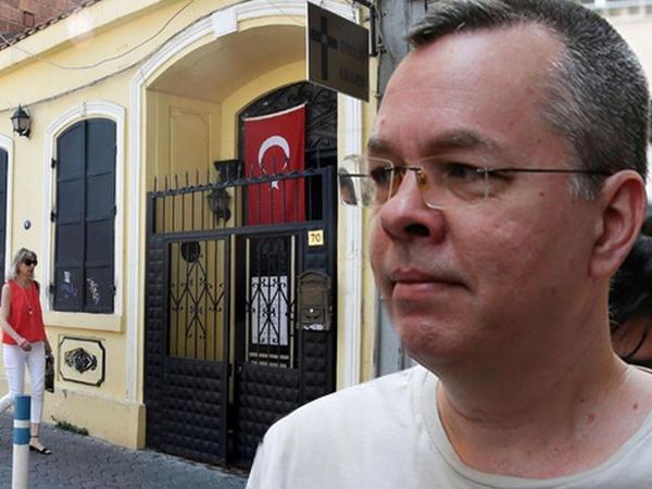 Türkiyənin əfv etdiyi ABŞ-lı rahibin kilsəsi satıldı - FOTO