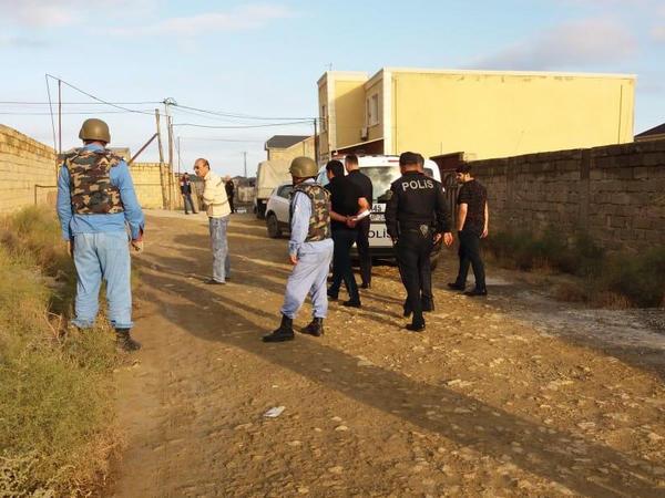 Badamdarda istifadəyə yararlı silah aşkarlanıb - FOTO