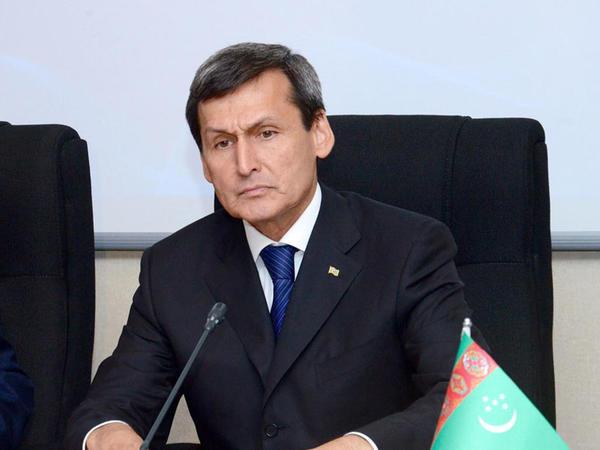 Türkmənistanın xarici işlər naziri Azərbaycana gəlib