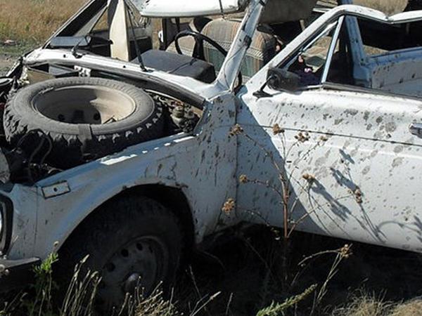 """""""Niva""""nı aşıran sərxoş sürücü öldü"""