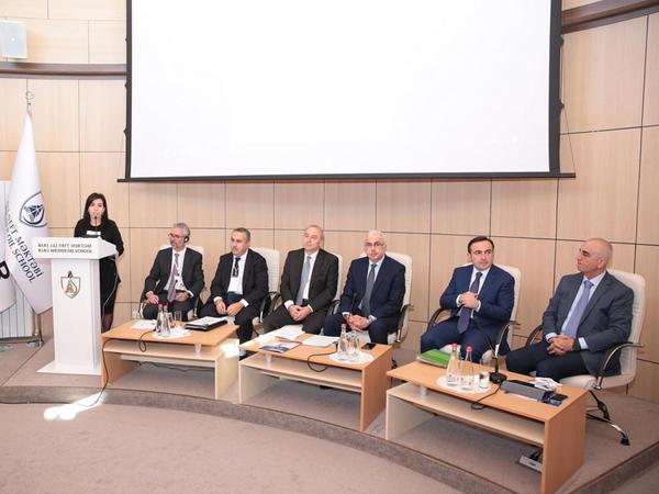 Bakı Ali Neft Məktəbində III Avrasiya Konfransına start verilib - FOTO