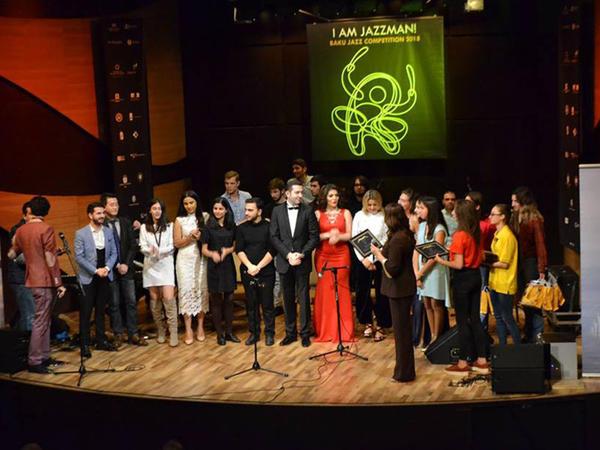 """Beynəlxalq Muğam Mərkəzində """"I am Jazman!"""" müsabiqəsi qaliblərinin konserti keçirildi"""