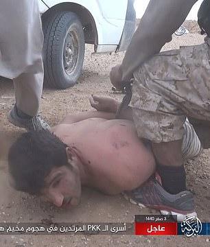 İŞİD 700 adam qaçırdı: hər gün 10 nəfər edam olunacaq - FOTO