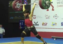 """Məhəmməd Məmmədli ağır atletika üzrə <span class=""""color_red"""">Avropa çempionu oldu - FOTO</span>"""